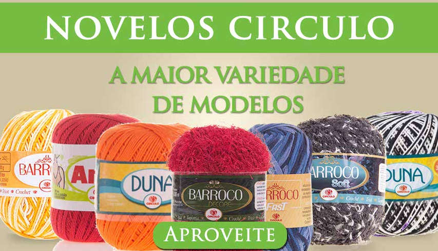 novelos e barbantes circulo